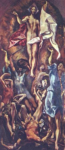 El Greco: Auferstehung Christi