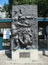 Hrdlicka: Tod des Demonstranten (Ohnesorg-Denkmal)