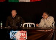 Soral, Egalité et Reconciliation, diskutiert mit Adinolfi, CasaPound