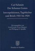 Carl Schmitt Der Schatten Gottes 136x200 Carl Schmitt: Der Schatten Gottes – eine Rezension
