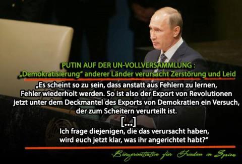 Putin UN Vollversammlung