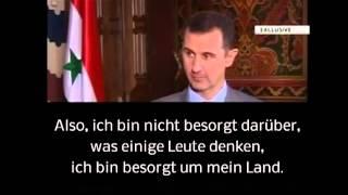 Assads Sorge um sein Land
