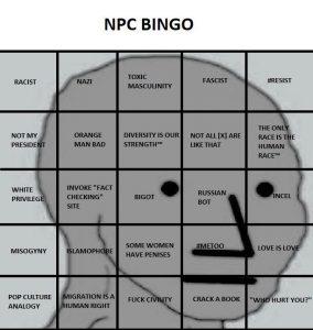 NPC Bingo