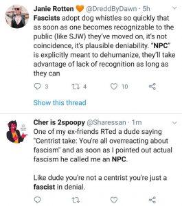 NPC als Faschismus